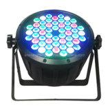 Lumière de PARITÉ du plastique 54X3w RGBW DEL