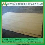 Tarjeta de madera de la madera contrachapada de la melamina del grado de los muebles