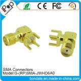 Connecteur coaxial de connecteurs de RP SMA Jwhd6a0 pour des connecteurs de SMA