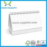 Calendrier fabriqué à la main de vente en gros de modèle d'impression de calendrier de bureau de Chine
