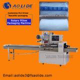医学のガーゼの綿の包むおよびパッキング機械を密封する自動流れフィルム