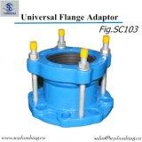 Adattatore universale della flangia del ferro duttile della conduttura di acqua potabile di uso di industria dell'acquedotto
