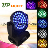 RGBWA UV 36 * 18W 6in1 LED Moving Head Stage de lumière