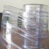 Portes à lamelles à nervures de PVC de basse température pour la chambre froide