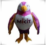 Preço personalizado alta qualidade da mascote do papagaio do traje da mascote