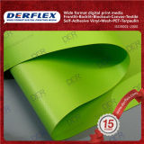 PVC 야드로 입히는 물자 비닐 폴리에스테 직물 비닐 물자
