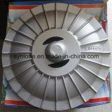 2017 подгонянных частей турбинки точности подвергая механической обработке стальных