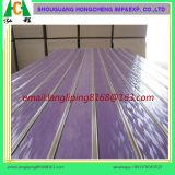 El panel ranurado alto lustre del PVC o de la melamina