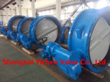 Пневматическая выровнянная PTFE клапан-бабочка вафли нержавеющей стали (D671F46)