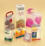 Boîte-cadeau transparente de PVC de plastique
