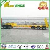 3 des essieux 70tons de bâti camion de remorque inférieur de connexion semi