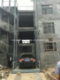Elevador vertical do estacionamento para carros hidráulico