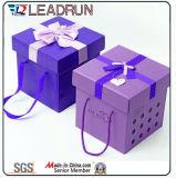 Candy Tin Gift Emballage en métal Cadeau en chocolat Boîte en étain Boîte cadeau en papier Boîte aux chocolats en acrylique (YSC22)