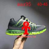 95 zapatillas de deporte llenas de los zapatos corrientes de la luz de la ventilación del verano del resorte del amortiguador de aire