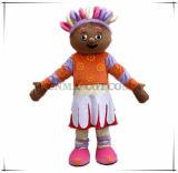 Traje da mascote do personagem de banda desenhada da margarida de Upsy da boa qualidade