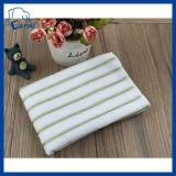 essuie-main de tissu de Microfiber de bande de couleur de 30cm*30cm Microfiber (QHSD9985456)
