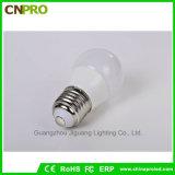 Ampoule chaude d'éclairage LED des ventes 3W 5W 7W 9W 12W E27 E26 B22