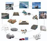 Transición de la construcción naval articulaciones o tira