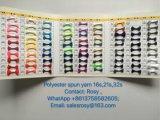 Fabrik-Lieferant Whosale bereitete Polyester-Ring gesponnenes Garn auf