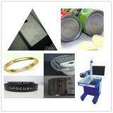 Machine d'inscription de laser de fibre en métal pour le code, logo, nom d'étiquette, iPhone/Apple