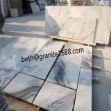 Естественные каменные пасмурные серые мраморный плитки стены от Китая