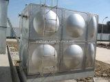 El tanque de almacenaje del agua del acero inoxidable para el circuito de agua caliente solar
