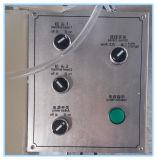 Fresadora de la Agua-Ranura con dos ejes para el proceso de la puerta de la ventana de UPVC
