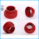 FM와 UL Approved Ductile Iron Grooved Reducer