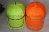 Alto sombreros hechos punto de los ojos del verde de la fluorescencia de la visibilidad béisbol reflexivo