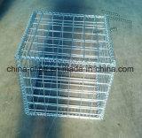 Гальванизированная сваренная коробка Gabion ячеистой сети для каменного здания