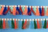 Mehr Farbe auserlesene Troddel-Franse für Dekoration umarbeiten