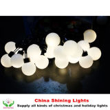 Novelty 도매 5cm LED Ball Lights Christmas Holiday Party 정원 Decoration