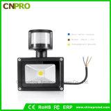 Projector Multifunction do diodo emissor de luz do sensor de movimento de 10W 20W 30W 50W