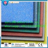 Плитки пола EPDM резиновый, напольные плитки резины спортивной площадки