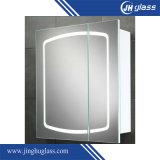 Espejo de plata decorativo del LED para el cuarto de baño
