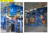 Polvere Coating Production Line con Shot Blasting Pretreatment