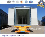 Seiten-geöffnete Flügel-Öffnung Isolierkasten-halb LKW-Schlussteil