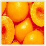 Pesche gialle inscatolate in sciroppo a metà/tagliati/affettati