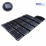 65W 2-haven gelijkstroom USB ZonneLader met High-Efficiency Draagbare Vouwbare Technologie van Powermaxiq van het Zonnepaneel voor iPhone, iPad, iPod (fsc-65A)
