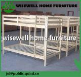 Cama de beliche de madeira de pinheiro maciço (WB-5005)