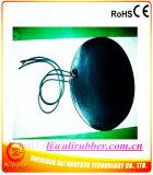 Calefator de derretimento da borracha de silicone do cobertor de aquecimento da neve redonda preta da cor