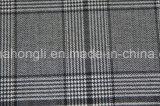Tessuto del plaid tinto filato T/R, 220GSM, 63%Polyester 34%Rayon 3%Spandex