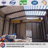 Мастерская конструкции портальной рамки стальная для продукции и обрабатывать