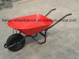 Wheelbarrow de pouco peso Wb4400 do jardim
