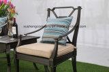 Im Freien Gussaluminium-stationäre Stuhl-Möbel