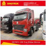 Rimorchio della testa del camion di Sinotruk HOWO A7 100ton e trattore (6X4)
