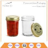 Food Grade Стеклянная банка для варенья, сальса, фасовки меда