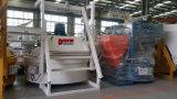 Misturador concreto do eixo vertical da qualidade do CE com funil de alimentação