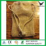Мешок шнура джута изготовленный на заказ промотирования миниый малый
