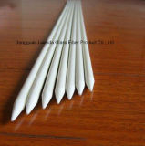 Estaca de alta resistencia de la fibra de vidrio del peso ligero FRP de la extrusión por estirado